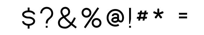 Bernur Normal Font OTHER CHARS