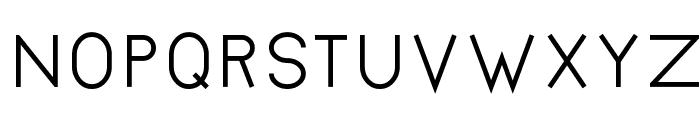 Bernur Normal Font UPPERCASE