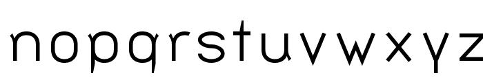 Bernur Normal Font LOWERCASE