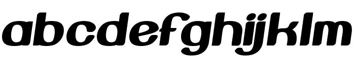 Beroga Fettig Bold Font LOWERCASE