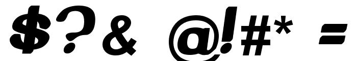 Beroga Normal Font OTHER CHARS