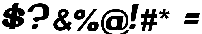 Beroga Font OTHER CHARS