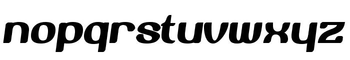 BerogaFettig-Bold Font LOWERCASE