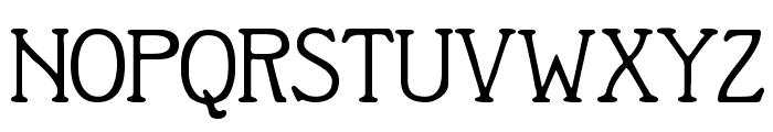 Berolina Font UPPERCASE