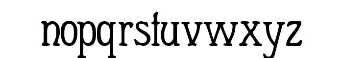Berolina Font LOWERCASE