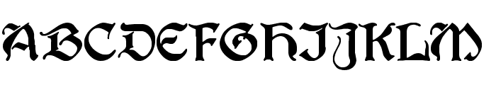 Berry Rotunda Regular Font UPPERCASE