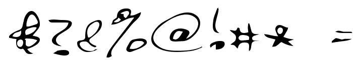 Bert Regular Font OTHER CHARS