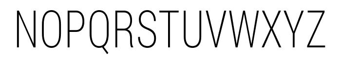 Bert Sans ExtraLight Font UPPERCASE