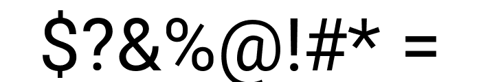 Bert Sans Medium Font OTHER CHARS