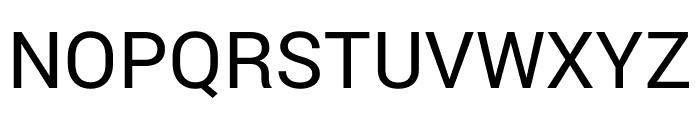 Bert Sans Medium Font UPPERCASE