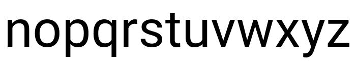 Bert Sans Medium Font LOWERCASE