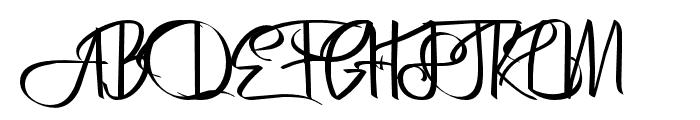 Bertha-Regular Font UPPERCASE