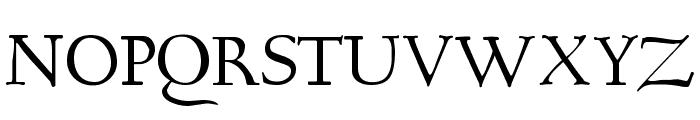 Bertham Font UPPERCASE