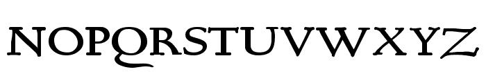 BerthamBold Font UPPERCASE