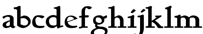 BerthamBold Font LOWERCASE