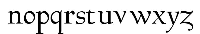 Bertham Font LOWERCASE