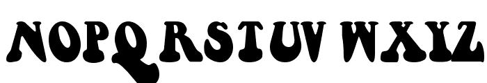 Berthside Font UPPERCASE