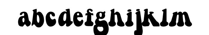 Berthside Font LOWERCASE