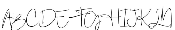 Berthy Font UPPERCASE