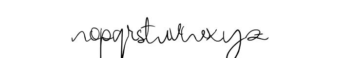 Berthy Font LOWERCASE