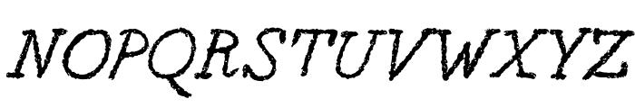 Berton Voyage Regular Font UPPERCASE