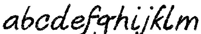 Berton Voyage Regular Font LOWERCASE