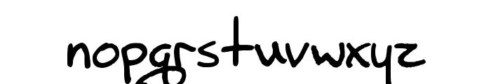 Beryl Font LOWERCASE