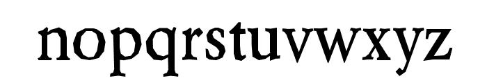 Berylium-Bold Font LOWERCASE