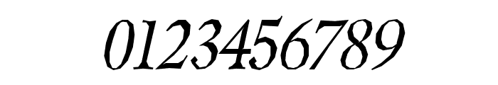 Berylium-Italic Font OTHER CHARS