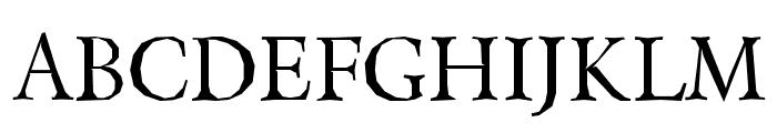Berylium-Regular Font UPPERCASE