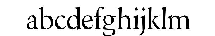 Berylium-Regular Font LOWERCASE
