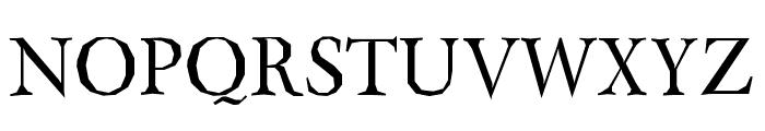 Berylium Font UPPERCASE