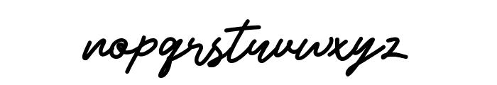 Beshiny Font LOWERCASE