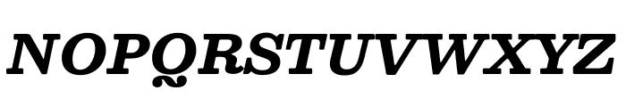 Besley* Bold Italic Font UPPERCASE