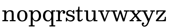 Besley* Book Font LOWERCASE