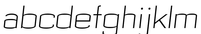 Bespoke GYH2oJovYg Font LOWERCASE