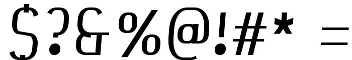 Bespoke njRfadf6wQ Font OTHER CHARS