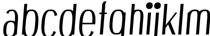 Bespoke njRfadf6wQ Font LOWERCASE
