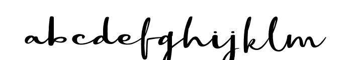Best Part DEMO Regular Font LOWERCASE