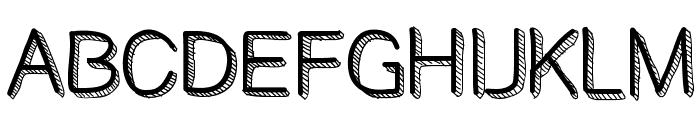 BestDayEver Font UPPERCASE