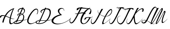 Bestalia PU Font UPPERCASE