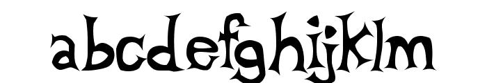 Beta Dance Font LOWERCASE