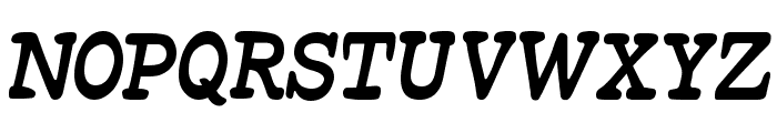 Beta54 Font UPPERCASE
