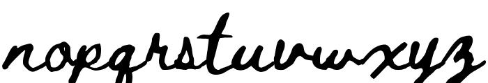 Beth Ellen Regular Font LOWERCASE