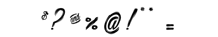 Bethanie Snake_PersonalUseOnly Font OTHER CHARS