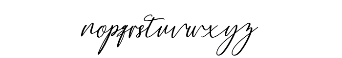 Bethany Script Font LOWERCASE