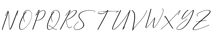 BethanyScript Font UPPERCASE