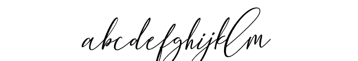 BethanyScript Font LOWERCASE