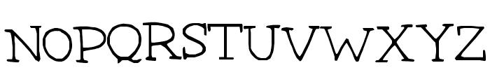 Betsystype Font UPPERCASE