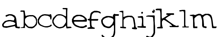 Betsystype Font LOWERCASE